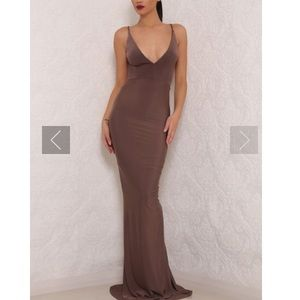 Celine Backless Gown